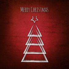 Free Vintage Christmas Tree Stock Images - 35691344