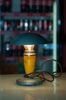 Free Old Lamp Royalty Free Stock Photography - 35693407