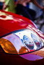 Free Red Sports Car Headlight Royalty Free Stock Photography - 3577527