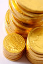 Free Chocolate Coins Royalty Free Stock Images - 3578839