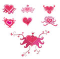 Free Set Of Valentine Hearts Royalty Free Stock Photography - 3579417