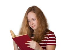 Free Girl Reading Book Stock Photo - 3570400