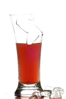 Free Glass With Juice Royalty Free Stock Images - 3570749