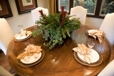 Free Festive Dining Table Royalty Free Stock Photos - 3571538