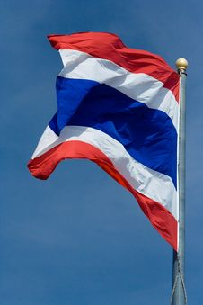 Free Thai Flag Royalty Free Stock Photography - 3572527