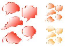 Free Communication Bubbles Royalty Free Stock Image - 3573106