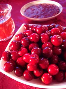 Free Fresh Cherry In Bowl Royalty Free Stock Photos - 3573948