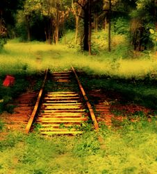 Free Abandon Railway Stock Images - 3574734