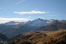 Free Mountain Landscape Autumn Stock Photo - 3574830