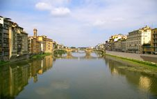 Free Arno And Bridge Stock Images - 3574944