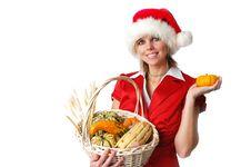 Free Beautiful Santa Girl Stock Photo - 3575020