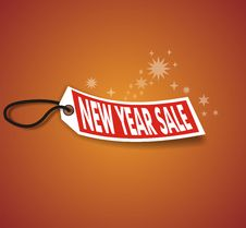 Free New Year Sale Royalty Free Stock Images - 3575429