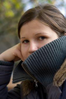 Free Shy Girl Stock Image - 3575431