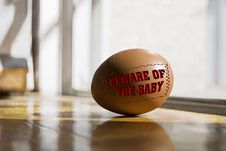 Free Beware Of The Baby Royalty Free Stock Photos - 3576048