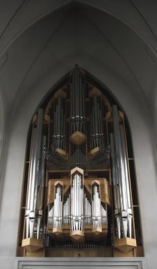 Free Close Up Hallgrimskirkja Organ Royalty Free Stock Photography - 3576307