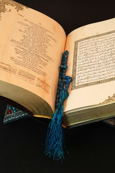 Free Koran With Bead Stock Photo - 3576870