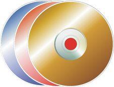 Free Disks Royalty Free Stock Photo - 3579085