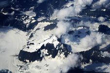 Free Glacier Viewed Above Stock Photography - 3579512