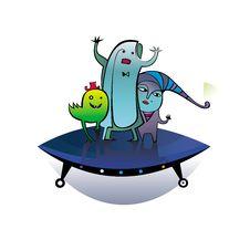 Free Hello Earthmen - Aliens Royalty Free Stock Images - 3579569