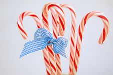 Free Christmas Candy With Bow Royalty Free Stock Photo - 3579615