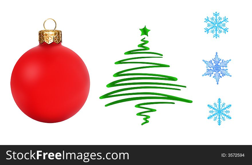 Christmas Sketches.Christmas Sketches Free Stock Images Photos 3572594