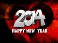 Free Happy New Year 2014 Royalty Free Stock Photos - 35703708