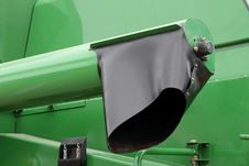 Detail Of A Modern Combine Stock Photo