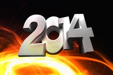 Free Figures 2014 Royalty Free Stock Images - 35703669