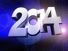 Free Figures 2014 Stock Images - 35703684