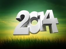 Free Figures 2014 Stock Images - 35703724