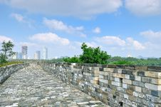 Free Nanjing Ming Great Wall Stock Images - 35703884