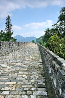 Free Nanjing Ming Great Wall Stock Photo - 35704060