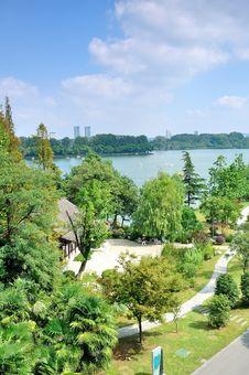 Free Xuanwu Lake Royalty Free Stock Image - 35704156