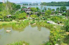 Free Xuanwu Lake Stock Photo - 35704320