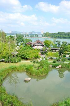 Free Xuanwu Lake Stock Photo - 35704350
