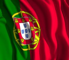 Free Portuguese Flag Royalty Free Stock Images - 35704809