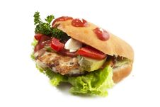 Free Fast Food Sandwich Stock Images - 35707514