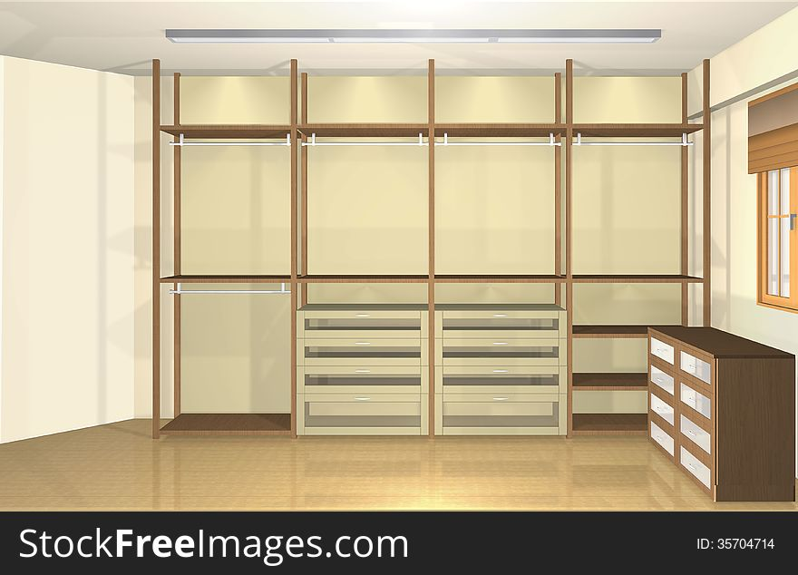 3d Interior Design Spacious Modern Dressing Room Free Stock Images Photos 35704714 Stockfreeimages Com