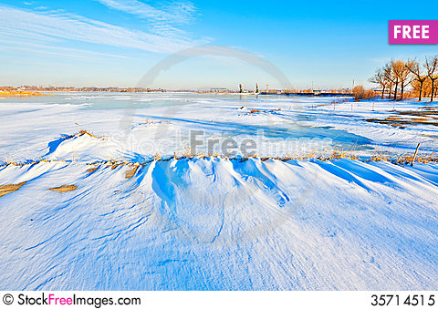 Free The Winter Snow Landscape Royalty Free Stock Photo - 35714515