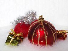 Free Christmas Decoration Stock Image - 35710771