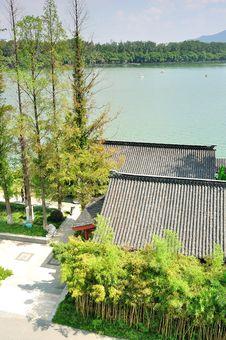 Free Xuanwu Lake Royalty Free Stock Photo - 35719975