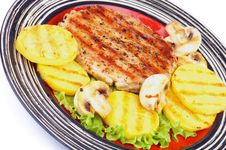Free Turkey Steak Royalty Free Stock Images - 35720009