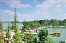 Free Xuanwu Lake Royalty Free Stock Photo - 35720255