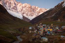 Free Village Ushguli. Svaneti. Georgia Royalty Free Stock Images - 35723679