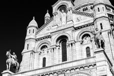 Free Sacre-Coeur Basilica On Montmartre, Paris Stock Photos - 35725253