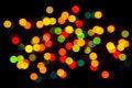 Free Christmas Lights Stock Photo - 35757130