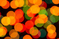 Free Defocused Christmas Lights Stock Photography - 35757192