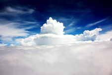 Free Mountain Of Clouds Stock Photo - 35755960