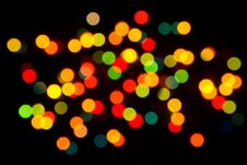 Free Christmas Lights Stock Photo - 35757130