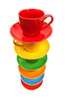 Free Coffee Cups Stock Photo - 35759210